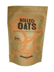 True Elements Rolled Oats Original Grain Form Cereal