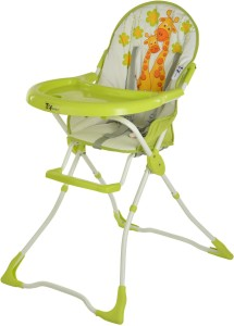 6cb5aa1e1d7 Toy House Baby High Chair Giraffe Green Best Price in India