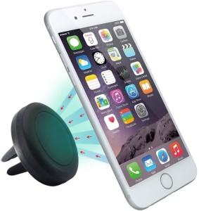 Pop Tech Car Mount, Pop-Tech Universal Cradle-less Cell Phone Magnetic Air Vent Mount Holder For iPhone 6, 6 plus, 5, 5s, 4, for Galaxy S6 Edge, S5, S4, Note 5, 4, 3, HTC One M8 M9 (Black) Charging Pad