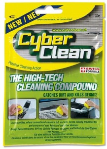 Cyberclean Home & Office Foil Zip Bag - 2.65 oz for Computers