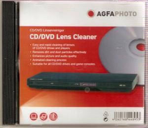 Agfa Photo Cd/Dvd Lens Cleaner for Laptops, Computers