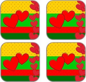 meSleep HeartMG-25-11-04 Fridge Magnet