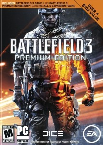 BATTLEFIELD 3 PREMIUM EDITION Premium Edition with Game and Expansion Pack