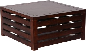 Home Edge Solid Wood Coffee Table