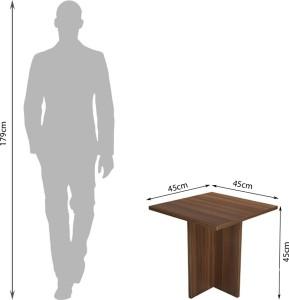 c181d8298 Debono Lily Engineered Wood Coffee TableFinish Color - Acacia Dark Matt