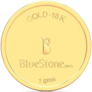 BlueStone 18 K 1 g Gold Coin