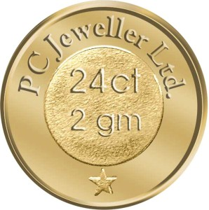 WearYourShine by PC Jewellers Floral 24 (995) K 2 g Gold Coin