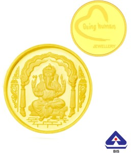 P.N.Gadgil Jewellers 24 (995) K 2 g Gold Coin