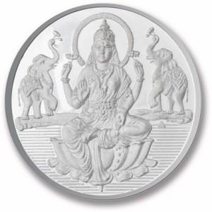 P.N.Gadgil Jewellers Laxmi Shree S 999 15 g Silver Coin