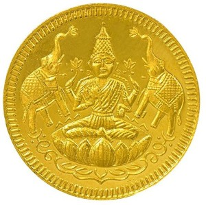 Joyalukkas 22 K 2 g Yellow Gold Coin