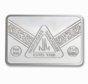 P.N.Gadgil Jewellers N.M Chip S 999 250 g Silver Bar