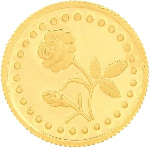 Malabar Gold and Diamonds MGRS999P5G 24 (999) K 5 g Gold Coin