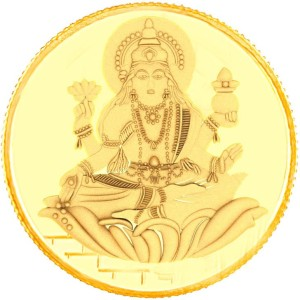E Gitanjali Ltd Laksmi 22 K 1 g Gold Coin