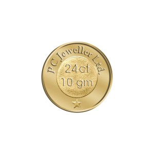 WearYourShine by PC Jewellers Floral 24 (995) K 10 g Gold Coin