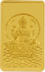TBZ TheOriginal TBZ - The Original 1 Grm Laxmi 24KT 999 Gold Coin 24 (999) K 1 g Gold Coin