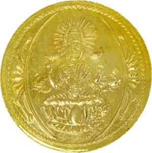 C. Krishniah Chetty Jewellers 22 K 2 g Yellow Gold Coin