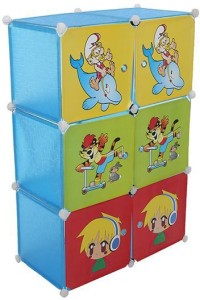 Lovely Collection PVC Collapsible Wardrobe