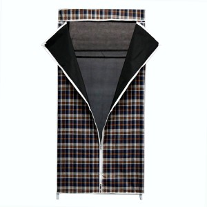 Online World Carbon Steel Collapsible Wardrobe