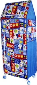 Amardeep Little Home PP Collapsible Wardrobe
