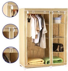 8e4b9082a Evana CREAM WARDROBE 04 Carbon Steel Collapsible Wardrobe Finish Color  Cream Best Price in India | Evana CREAM WARDROBE 04 Carbon Steel  Collapsible Wardrobe ...