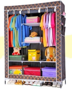 WDS Carbon Steel Collapsible Wardrobe