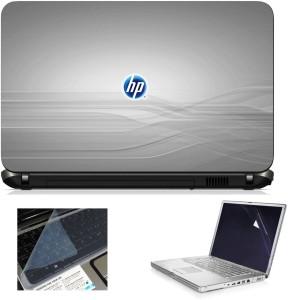Transparent Saco Chiclet Keyboard Skin for HP 15-r065TU Notebook/