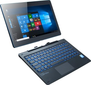 Micromax Canvas Laptap II(Wifi+3G) Atom 4th Gen - (2 GB/32 GB EMMC Storage/Windows 10 Home) LT777 2 in 1 Laptop