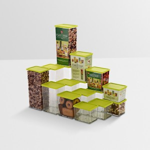 Disha Marketing  - 1225 ml Plastic Multi-purpose Storage Container