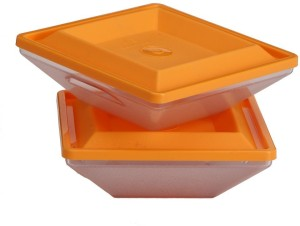 Richcraft New Shape Glass Container With Cap And Trandy Design  - 600 ml Glass Multi-purpose Storage Container