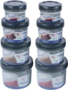 Bel Casa Lock & Store Spin  - 150 ml, 300 ml, 500 ml, 730 ml Polypropylene Multi-purpose Storage Container