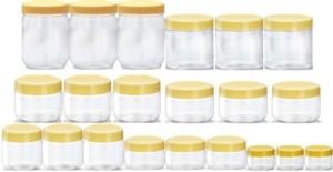 Sunpet 103240-21  - 300 ml, 250 ml, 200 ml, 150 ml, 100 ml, 50 ml, 30 ml Plastic Food Storage