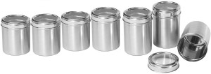 Dynore Kitchen Storage With See Through Lid  - 500 ml, 750 ml, 1000 ml, 1250 ml, 1500 ml, 1750 ml, 2000 ml Stainless Steel Food Storage