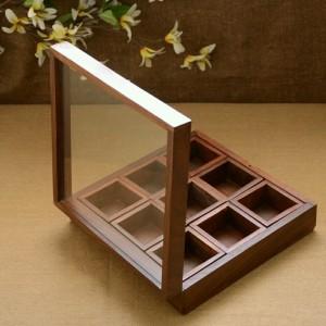 MartCrown 2 Piece Condiment Set  - 1.5 L Wooden Spice Container