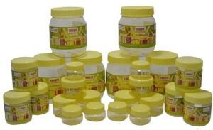 Sunpet Bonito 104080-24  - 500 ml, 100 ml, 50 ml, 30 ml Plastic Multi-purpose Storage Container