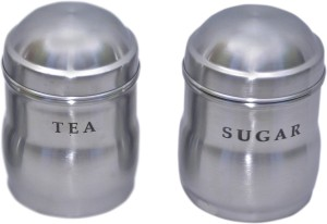 Dynore  - 1000 ml Stainless Steel Tea, Coffee & Sugar Container
