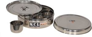 KCL Masala Container Dabba  - 2500 ml Stainless Steel Spice Container