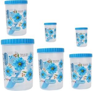 Stylobby  - 1200 ml, 1100 ml, 1500 ml, 250 ml, 1500 ml, 1100 ml, 250 ml Polypropylene Multi-purpose Storage Container