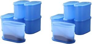 Tallboy Mahaware(microwaveable safe) space saver Aqua blue  - 1200 ml Polypropylene Multi-purpose Storage Container