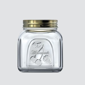 Pasabache  - 500 ml Glass Food Storage