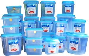 Chetan 27 Pc Medium Softlock Kitchen Set  - 3000 ml, 2000 ml, 1250 ml, 1000 ml, 600 ml Plastic Food Storage