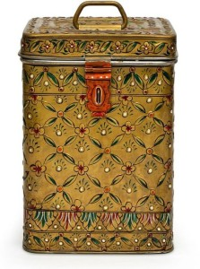 Kaushalam Mughal Copper  - 3 L Stainless Steel Food Storage