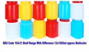 Herware Shelf Range 104 - 21  - 12000 ml Plastic Grocery Container