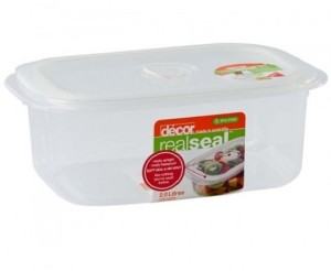 Decor Realseal Oblong 2.0 L  - 2000 ml Plastic Food Storage