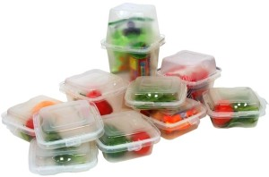 Televantage Mix N Match Containers  - 1000 ml Plastic Food Storage