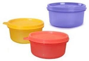 Tupperware  - 230 ml, 230 ml, 230 ml Plastic Food Storage
