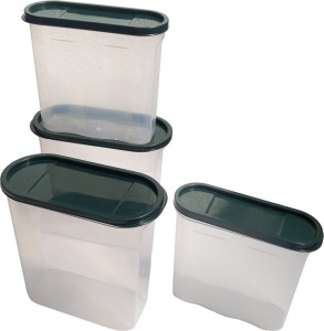 Inddus Transparent container - 900 ml 1600 ml Polypropylene Multi-purpose Storage ContainerPack of 4 White  sc 1 st  Buyhatke & Inddus Transparent container 900 ml 1600 ml Polypropylene Multi ...