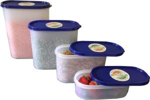 Mahaware Modular Space Saver  - 600 ml, 1800 ml, 1200 ml, 2400 ml Plastic Food Storage
