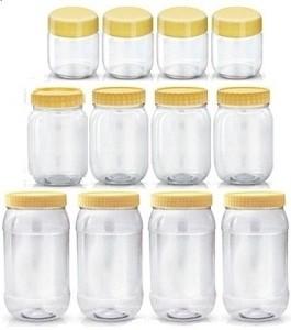 Sunpet 108800-12  - 200 ml, 500 ml, 1500 ml Plastic Food Storage