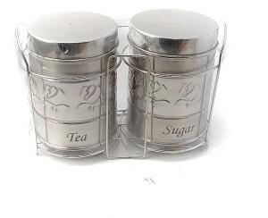 Pratha  - 500 ml Steel Tea, Coffee & Sugar Container