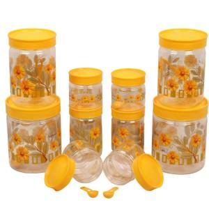 Golddust Spoons with  - 1500 ml, 1000 ml, 800 ml, 250 ml, 150 ml Plastic Multi-purpose Storage Container